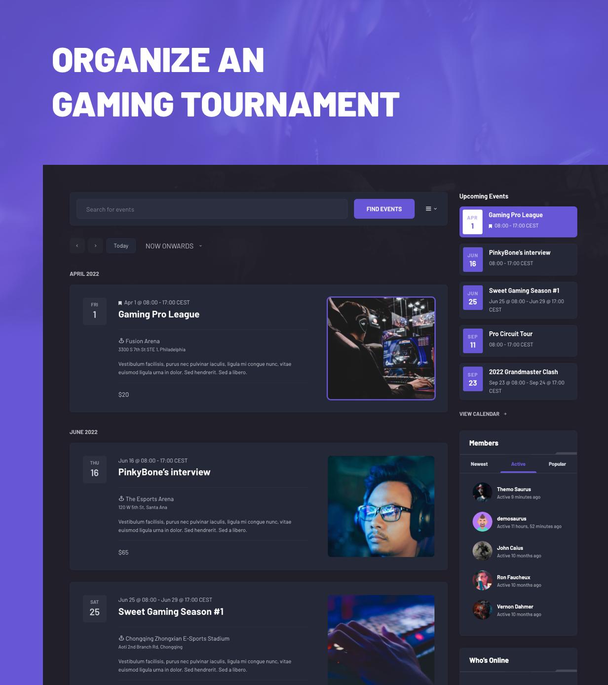 Armadon - Gutenberg WordPress Theme & For Gaming Community - 3
