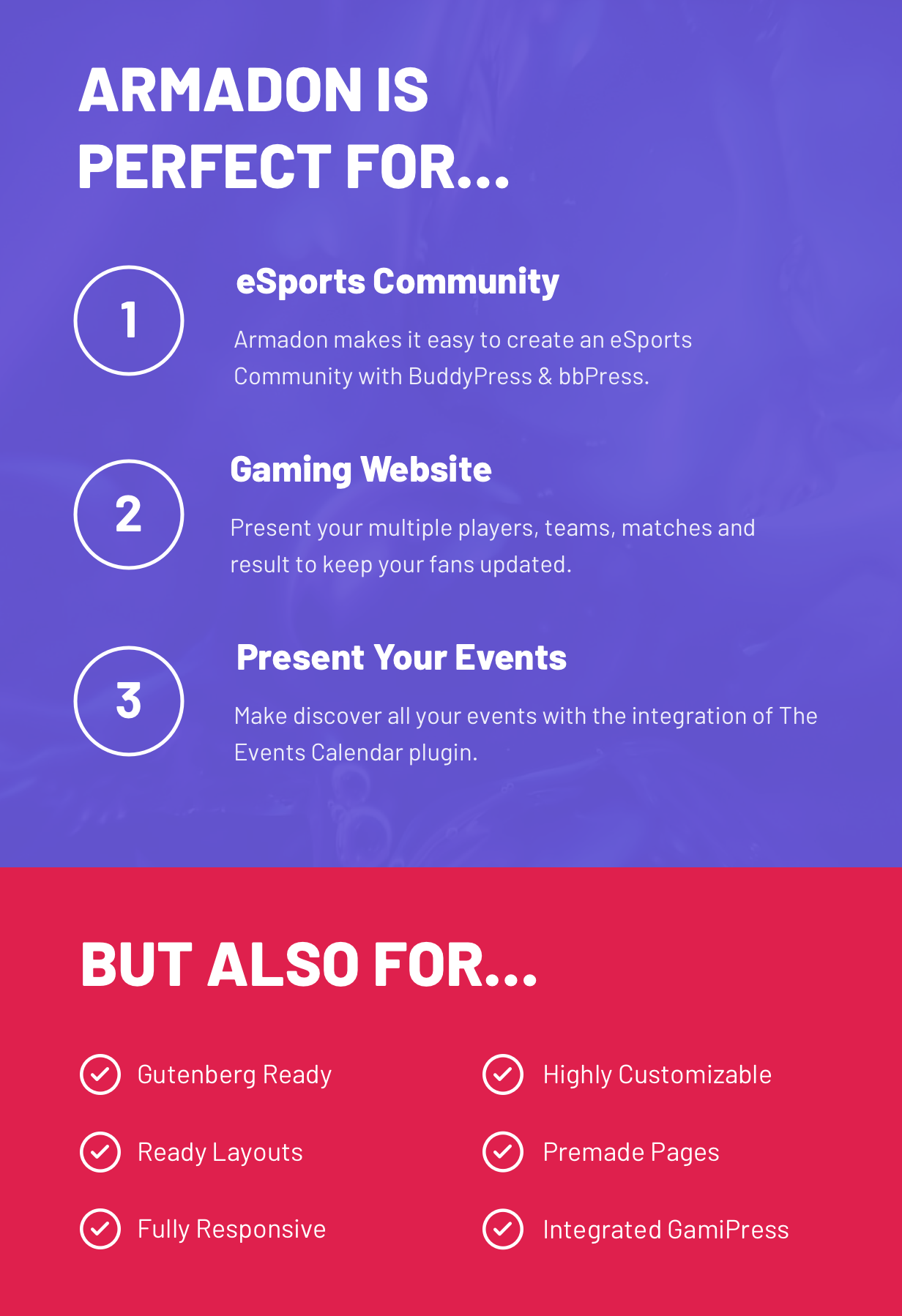 Armadon - Gutenberg WordPress Theme & For Gaming Community - 5