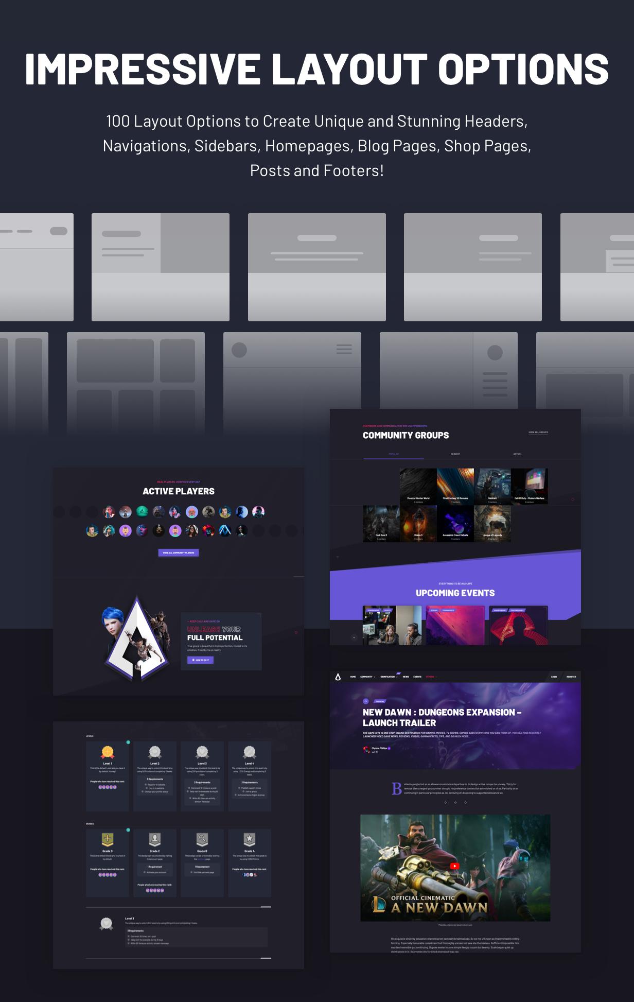 Armadon - Gutenberg WordPress Theme & For Gaming Community - 6
