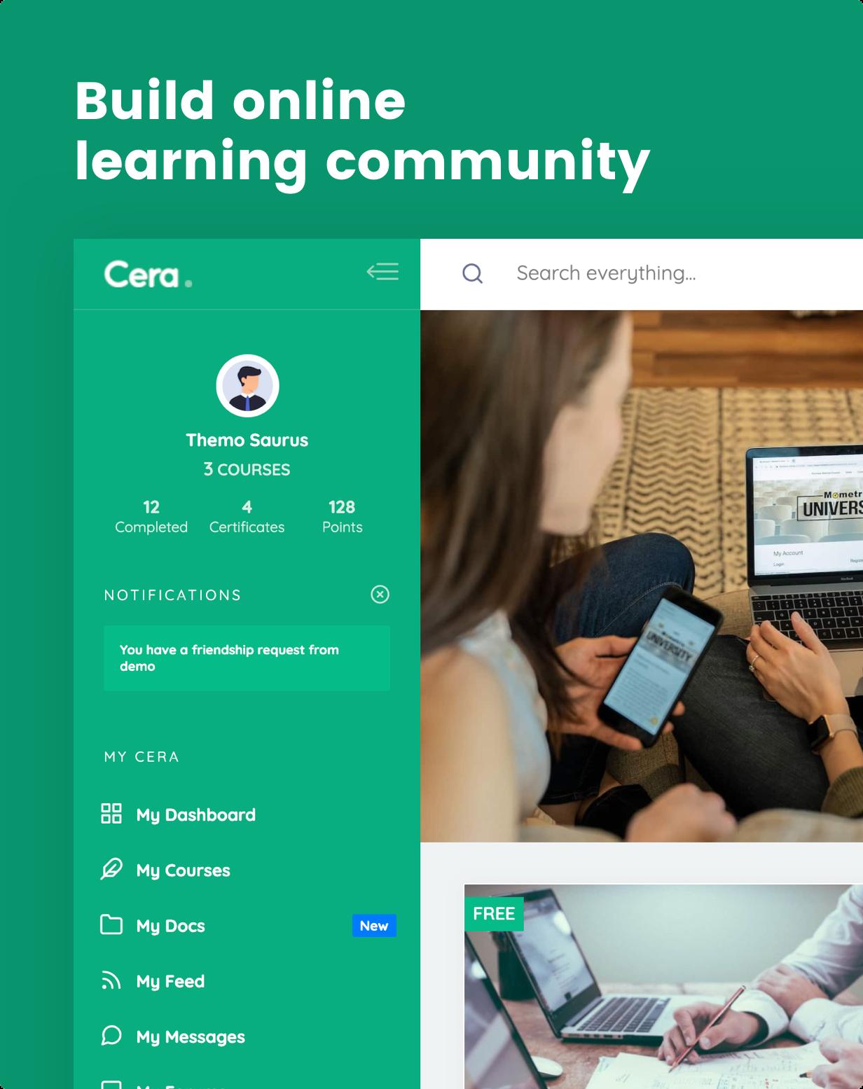 Cera - Intranet & Community Theme - 14
