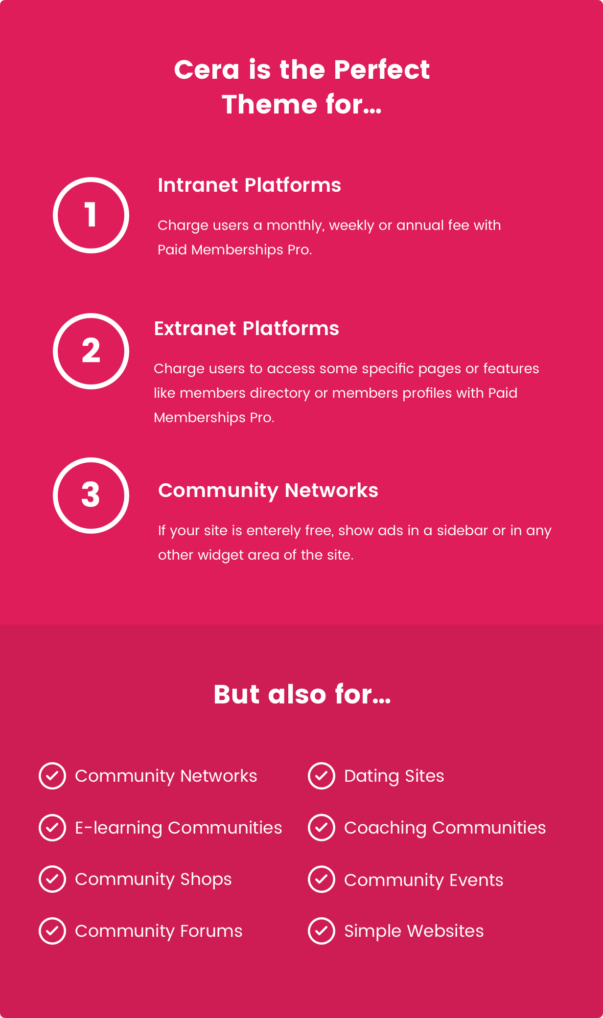 Cera - Pro Intranet/Extranet Social Network & BuddyPress Community Theme - 6