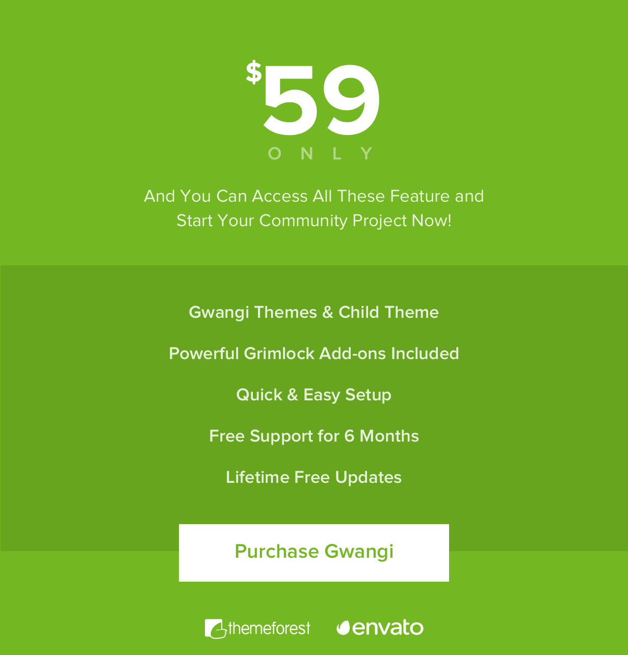 Gwangi - PRO Multi-Purpose Membership, Social Network & BuddyPress Community Theme - 44