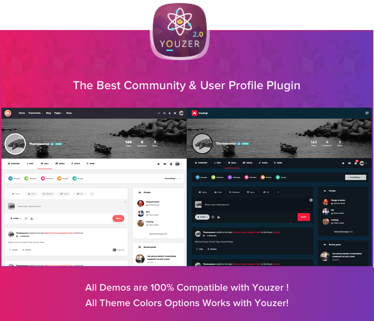 Gwangi - PRO Multi-Purpose Membership, Social Network & BuddyPress Community Theme - 21