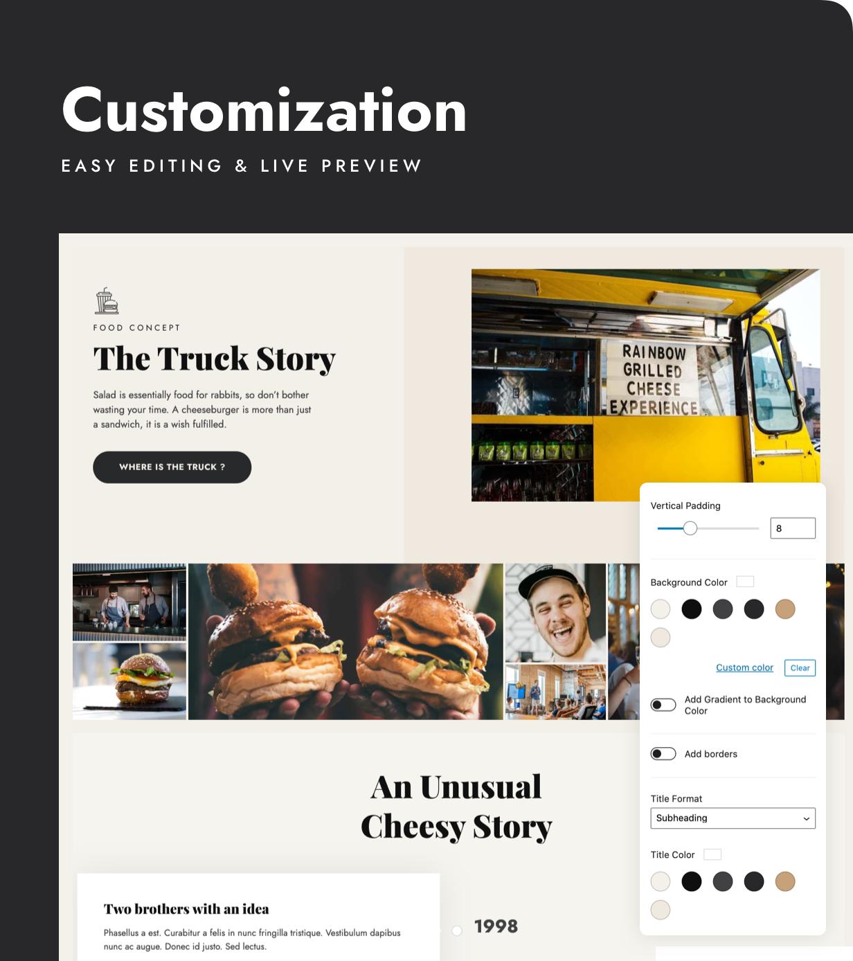 Stego - Food Truck & Restaurant Theme - 5